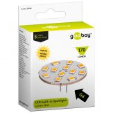 LED Einbaustrahler 2 W Sockel G4, ersetzt 20 W, 170 Lumen