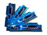 G.Skill Ripjaws-X - DDR3 - 32 GB : 4 x 8 GB - DIMM 240-PIN - 1600 MHz / PC3-12800 - CL9 - 1.5 V - ungepuffert - nicht-ECC