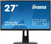 "Iiyama ProLite  B2783QSU-B1 - Business LED-Monitor - 68.5 cm ( 27"" ) - 2560 x 1440  TN - 350 cd/m2 - 12000000:1 (d.) - 1 ms - HDMI, DVI-D, DP - Lauts."