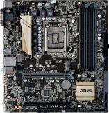 ASUS H170M-PLUS - Motherboard - Mikro-ATX - LGA1151 Socket - H170 - USB 3.0, USB-C - Gigabit LAN - Onboard-Grafik (CPU erforderlich) - HD Audio