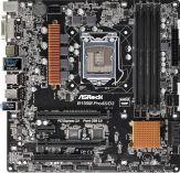 ASRock B150M Pro4S/D3 - Motherboard - Mikro-ATX - LGA1151 Socket - B150 - USB 3.0 - Gb LAN - Onboard-Grafik (CPU erforderlich)