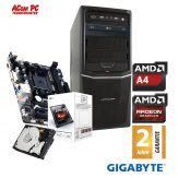 ACom Angebot des Monats AMD STARTER 115 V.2 - AMD A4-6300 - 4GB RAM - 500 GB HDD - DVD-Brenner - AMD Radeon HD 8370D - USB 3.0 - 350 Watt