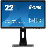 "Iiyama ProLite XB2283HSU-B1DP - LED-Monitor - 55.9 cm (22"") (21.5"" sichtbar) - 1920 x 1080 Full HD (1080p) - 5 ms - DVI-D, VGA, DP - Lautsprecher"