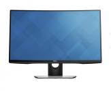 "Dell SE2716H - LED-Monitor - gebogen - 68.58 cm ( 27"" ) - 1920 x 1080 FullHD - 300 cd/m2 - 3000:1 - 6 ms - 2xHDMI(MHL), VGA - Lautsprecher - Schwarz"