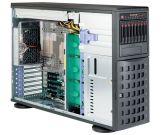 "Supermicro SuperServer 7048R-C1R - Server - Tower - 4U - zweiweg - RAM 0 MB - SATA/SAS - Hot-Swap 6.4 cm+8.9 cm/2.5"",3.5"" ) - keine HDD - AST2400"