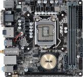 ASUS H170I-PLUS D3 - Motherboard - Mini-ITX - LGA1151 Socket - H170 - USB 3.0 - Bluetooth, Gigabit LAN, Wi-Fi - Onboard-Grafik (CPU erforderlich)