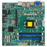 SUPERMICRO X10SLQ - Motherboard - Mikro-ATX - LGA1150-Sockel - Q87 - USB 3.0 - 2 x Gigabit LAN - Onboard-Grafik (CPU erforderlich) - HD Audio(8-Kanal)