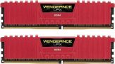 Corsair Vengeance LPX Rot - DDR4 - 16 GB : 2 x 8 GB - DIMM 288-PIN - 3000 MHz / PC4-24000 - CL15 - 1.35 V - ungepuffert - nicht-ECC