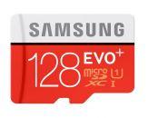 Samsung EVO+ MB-MC128DA - Flash-Speicherkarte ( microSDXC-an-SD-Adapter inbegriffen ) - 128 GB - UHS Class 1 / Class10 - microSDXC UHS-I