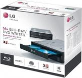 "LG BH16NS55 - BluRay Laufwerk - BDXL Writer - 16x2x12x - Serial ATA - intern - 13.3 cm ( 5.25"" ) - Schwarz - retail inkl. Software"