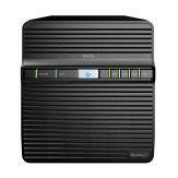 Synology Disk Station DS416J - NAS-Server - 4 Schächte - SATA 6Gb/s - RAID 0, 1, 5, 6, 10, JBOD - Gigabit Ethernet - iSCSI