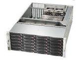 Supermicro SC846 BE16-R1K28B - Rack - einbaufähig - 4U - verbessertes, erweitertes ATX - SAS - Hot-Swap 1280 Watt - Schwarz