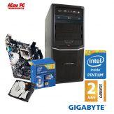 ACom Angebot des Monats Intel STARTER 125 - Intel® Pentium® G3260 - 4GB RAM - 500 GB HDD - DVD-Brenner - Intel HD Graphics - USB 3.0 - 350 Watt