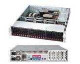 Supermicro SC216 BA-R920LPB - Rack - einbaufähig - 2U - verbessertes, erweitertes ATX - SATA/SAS - Hot-Swap 920 Watt - Schwarz