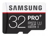 Samsung Pro+ MB-MD32DA - Flash-Speicherkarte - ( microSDXC-an-SD-Adapter inbegriffen ) - 32 GB - UHS Class 3 - microSDHC UHS-I