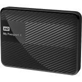 WD My Passport X WDBCRM0020BBK - Festplatte - 2 TB - extern ( tragbar ) - USB 3.0 - Schwarz
