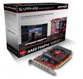 Sapphire AMD FirePro W600 - Grafikkarten - FirePro W600 - 2 GB GDDR5 - PCI Express 3.0 x16 6 x Mini DisplayPort