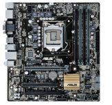 ASUS Q170M-C - Motherboard - Mikro-ATX - LGA1151 Socket - Q170 - USB 3.0 - Gigabit LAN - Onboard-Grafik (CPU erforderlich) - HD Audio (8-Kanal)