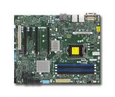 Supermicro X11SAT-O - Intel Xeon E3-1200 v5, Intel C236 chipset, Up to 64GB Unbuffered ECC/non-ECC UDIMM DDR4 2133MHz, 4x DIMM, GbE LAN