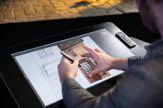 Wacom Cintiq 27QHD Touch - Digitalisierer mit LCD Anzeige - 51.84 x 32.4 cm - Multi-Touch - verkabelt - USB - Schwarz