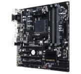 Gigabyte GA-F2A88XM-D3HP - 1.0 - Motherboard - Mikro-ATX - Socket FM2+ - AMD A88X - USB 3.0, USB 3.1, USB-C - Gigabit LAN - Onboard-Grafik