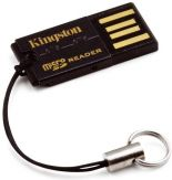 Kingston USB microSD Reader - Kartenleser ( microSD, microSDHC ) - USB 2.0