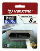 Transcend JetFlash 600 - USB-Flash-Laufwerk - 8 GB - USB 2.0 - Blau