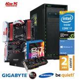 ACom Ultra Gamer 2017 G7 i7-1080 - Win 10 - Intel Core i7-6800K Broadwell - 16 GB RAM - 500 GB SSD + 2 TB HDD - DVD-Brenner - GF GTX 1080 - 600 Watt