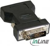 InLine DVI-A Adapter - Analog 12+5 Stecker auf 15pol HD Buchse (VGA)