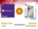 Option für i3, i5 und i7 Highspeed SILENT Allrounder G7 + AdM Intel Starter besthend aus: 240 GB SSD + Win 10 Pro, vorinstalliert und versiegelt
