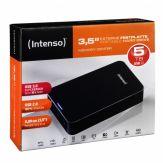 "Intenso Memory Center - Festplatte - 5 TB - extern ( Stationär ) - 8.9 cm ( 3.5"" ) - USB 3.0 - 5400 rpm - Puffer: 32 MB - Schwarz"