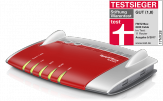 AVM FRITZ!Box 6490 Cable - Wireless Router mit Kabelmodem - 4-Port-Switch - GigE - 802.11a/b/g/n/ac - Dual-Band - VoIP-Telefonadapter (DECT)