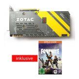 ZOTAC GeForce GTX 1070 - AMP! Edition - Grafikkarten - GF GTX 1070 - 8 GB GDDR5X - PCIe 3.0 x16 - DVI, HDMI, 3 x DisplayPort