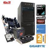 ACom Ultra Gamer 2017 AMD X4-460 - Win 10 - AMD II X4 845  - 8 GB RAM - 1 TB HDD - DVD-Brenner - Radeon RX 460 4 GB - USB3.0 - 600 Watt