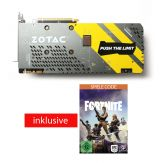 ZOTAC GeForce GTX 1070 - AMP! Extreme Edition - Grafikkarte - GF GTX 1070 - 8 GB GDDR5 - PCIe 3.0 x16 - DVI, HDMI, 3 x DisplayPort