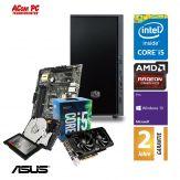 ACom Ultra Gamer SILENT G6 i5-RX 470 - Win 10 Pro - Intel Core i5-6400 Skylake - 16 GB RAM - 120 GB SSD + 1 TB HDD - DVD-Brenner - Radeon RX 470 4GB