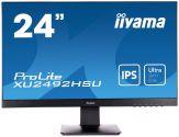 """Iiyama ProLite XU2492HSU-B1 - LED-Monitor - 60.5 cm ( 24"""" ) 16:9 - 1920 x 1080 FullHD - AH-IPS - 250 cd/m2 - WUXGA - 5 ms - HDMI, DVI-D, DP, Lautspr."""