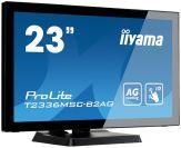 "Iiyama ProLite T2336MSC-B2AG - LED-Monitor - 58.4 cm ( 23"" ) - Multi-Touch - 1920 x 1080 FullHD - 1000:1 - 5 ms - HDMI, DVI-D, VGA - Lautsprecher"