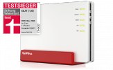 AVM FRITZ!Box 7580 - Wireless Router mit DSL-Modem - 4-Port-Switch - GigE - 802.11a/b/g/n/ac - Dual-Band - VoIP-Telefonadapter (DECT)