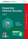 Kaspersky Internet Security 2017 1Benutzer 1Jahr(e) Box