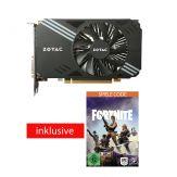 ZOTAC GeForce GTX 1060 - Grafikkarte - GF GTX 1060 - 3 GB GDDR5 - PCIe 3.0 x16 - DVI, HDMI, 3 x DisplayPort