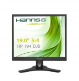 "Hanns.G HP194DJB LCD-Monitor - 48.3 cm ( 19.0"" ) 5:4 - Pivot, höhenverstellbarer Fuß - 1280 x 1024 - 250 cd/m² - 5 ms - DVI-D, VGA - Lautsprecher"