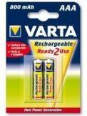 Varta Power Accu 56703 - Batterie 2 x AAA NiMH 800 mAh