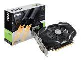MSI GeForce GTX 1050 Ti 4G OC - Grafikkarten - GF GTX 1050 Ti - 4 GB GDDR5 - PCI Express 3.0 x16 - DVI, HDMI, DisplayPort