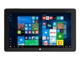 """TrekStor SurfTab Duo W3 - Tablet - mit Tastatur-Dock - Atom x5 Z8300/1.84 GHz - Windows 10 - 2 GB - 32 GB SSD - 29.5 cm/11.6"""" - 1920x1080 - Schwarz"""