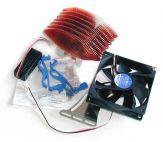 Zalman CNPS6500B-Cu - CPU/Prozessor-Kühler - Voll-Kupfer - für Socket 478 - Low Noise / Leise