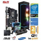 ACom ASUS/Be Quiet! Gamer G6 i5-1060 - Win10 - Intel Core i5-6600 Skylake - 16 GB RAM - 250 GB SSD + 2 TB HDD - GeForce GTX 1060 - WLAN