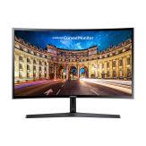 "Samsung CF396 Series C24F396FHU - LCD-Monitor - gebogen - 61 cm (24"") - 1920 x 1080 - VA - 250 cd/m² - 3000:1 - 4 ms - HDMI, VGA - glänzend schwarz"