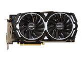 MSI GTX 1060 ARMOR 6G OCV1 - Grafikkarten - GF GTX 1060 - 6 GB GDDR5 - PCIe 3.0 x16 - DVI, 2 x HDMI, 2 x DisplayPort - Schwarz, weiß