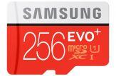 Samsung EVO+ MB-MC256D - Flash-Speicherkarte ( microSDXC-an-SD-Adapter inbegriffen ) - 256 GB - UHS-I U3 / Class10 - microSDXC UHS-I